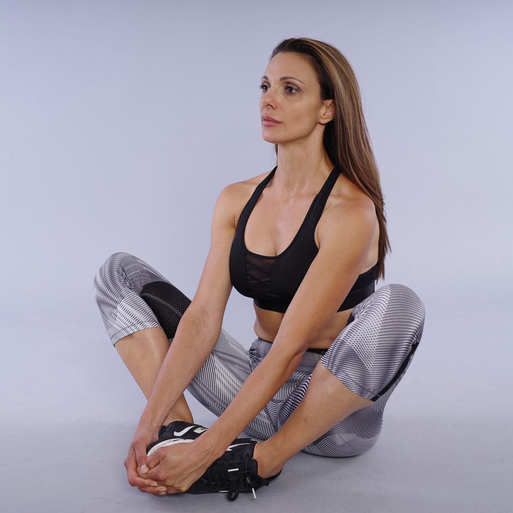 Stretching za aductor magnus